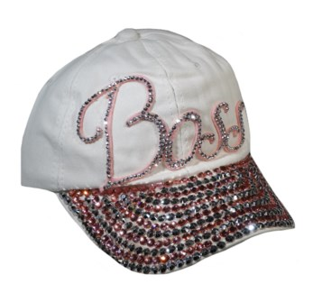 Bling Cap - Black W/Star